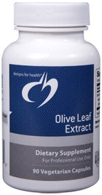 Olive Leaf Extract 500mg - 90 Vegetarian Capsules - Designs for Health