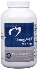 OmegAvail Marine with Lipase - 120 Softgels - Designs for Health