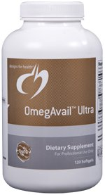 OmegAvail Ultra - 120 Softgels - Designs for Health