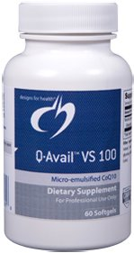 Q-Avail VS 100 mg - 60 Softgels - Designs for Health
