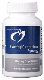 S-Acetyl Glutathione Synergy - 60 Vegetarian Capsules - Designs for Health