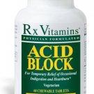Acid Block - 60 Chewable Tablets - Rx Vitamins