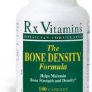 Bone Density Formula - 180 Capsules - Rx Vitamins