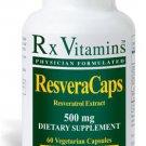 ResveraCaps - 60 Vegetarian Capsules - Rx Vitamins