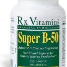 Super B-50 - 90 Capsules - Rx Vitamins