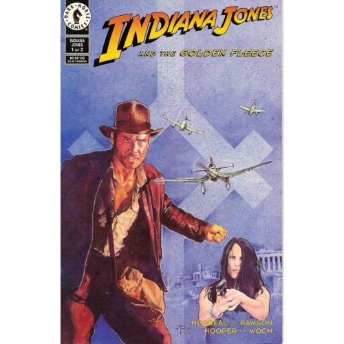 Indiana Jones and the Golden Fleece #1 (Comic Book) - Dark Horse Comics
