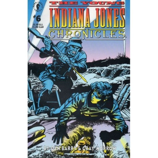 Young Indiana Jones Chronicles #6 (Comic Book) - Dark Horse Comics - by Dan Barry