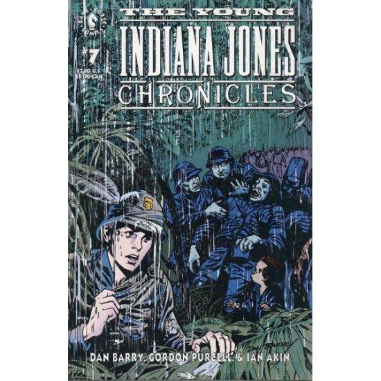 Young Indiana Jones Chronicles #7 (Comic Book) - Dark Horse Comics - by Dan Barry