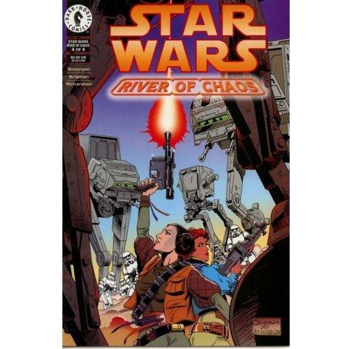 Star Wars: River of Chaos #4 (Comic Book) - Dark Horse Comics - by Louise Simonson