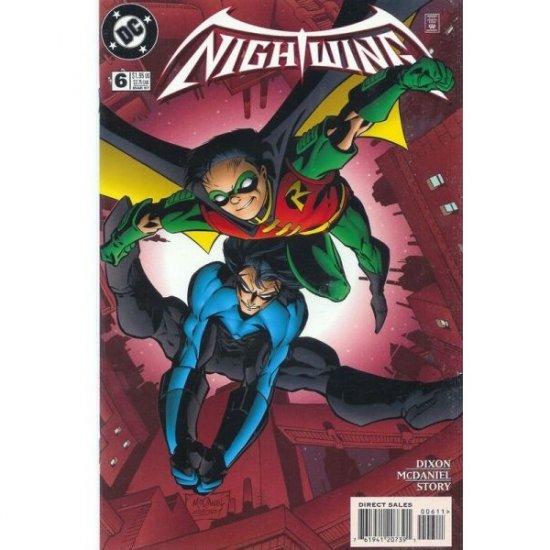 Nightwing, Vol. 2 #6 (Comic Book) - DC Comics - Batman / Chuck Dixon, Scott McDaniel, Karl Story