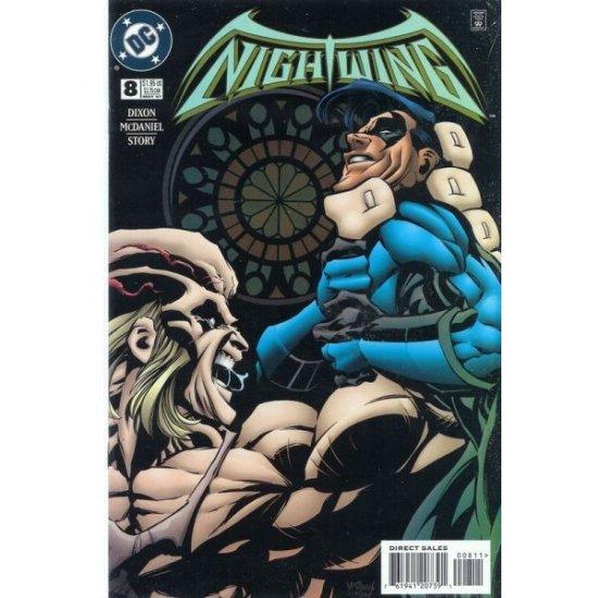 Nightwing, Vol. 2 #8 (Comic Book) - DC Comics - Batman / Chuck Dixon, Scott McDaniel, Karl Story