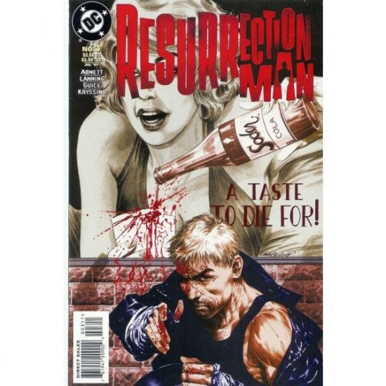 Resurrection Man #3 (Comic Book) - DC Comics - Dan Abnett, Andy Lanning, Jackson 'Butch' Guice
