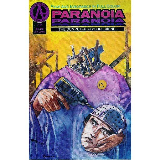 Paranoia #2 (Comic Book) - Adventure - Paul O'Conner & Hector
