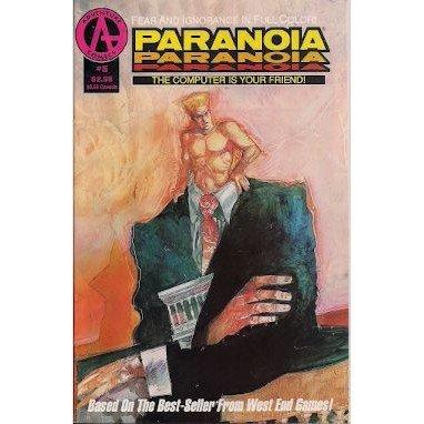 Paranoia #5 (Comic Book) - Adventure - Paul O'Conner & Hector