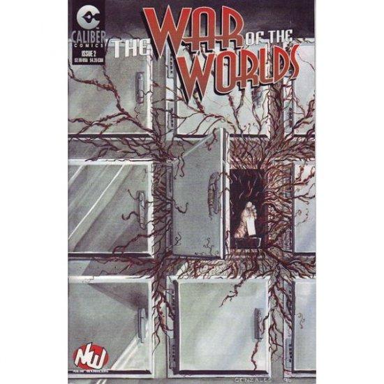 The War of the Worlds #2 (Comic Book) - Caliber Comics - Randy Zimmerman, Horus