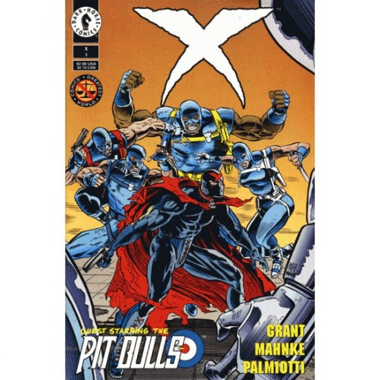 X #3 (Comic Book) - Dark Horse Comics - Comics' Greatest World