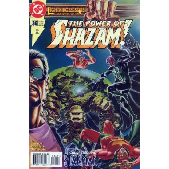 Power of Shazam!, Vol. 2 #36 (Comic Book) - DC Comics - Jerry Ordway, Dick Giordano