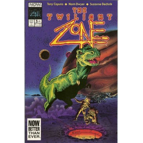 Twilight Zone, Vol. 2 #3 (Comic Book) - Now Comics -  Tony Caputo, Norm Dwyer