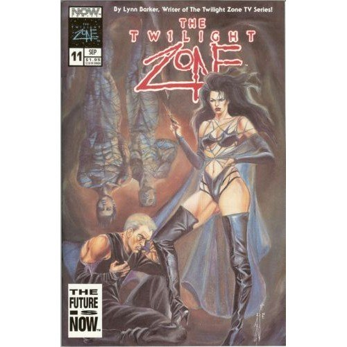 Twilight Zone, Vol. 2 #11 (Comic Book) - Now Comics - Lynn Barker, Steve Lieber