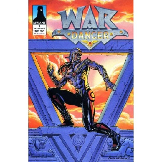 War Dancer #1 (Comic Book) - Defiant Comics - Jim Shooter, Alan Weiss, José Marzan Jr.