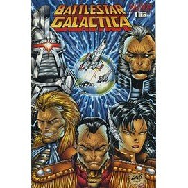 Battlestar Galactica: War of Eden #1 (Comic Book) - Maximum Press - Robert Place Napton, Rob Liefeld