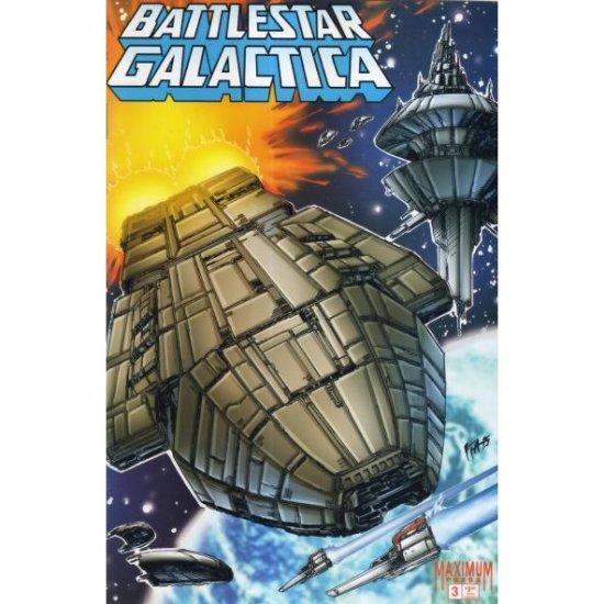 Battlestar Galactica: War of Eden #3 (Comic Book) - Maximum Press - Robert Place Napton, Rob Liefeld