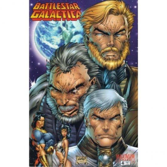 Battlestar Galactica: War of Eden #4 (Comic Book) - Maximum Press - Robert Place Napton, Rob Liefeld