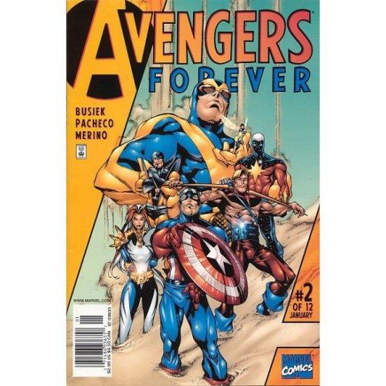 Avengers Forever #2 (Comic Book) - Marvel Comics - Kurt Busiek, George Perez