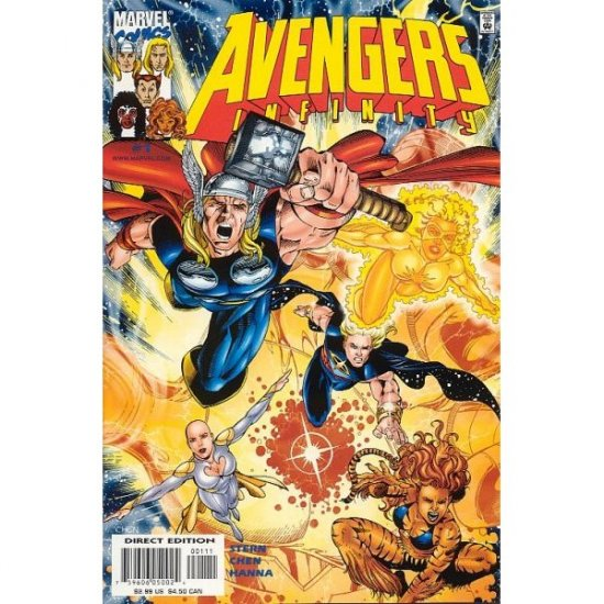 The Avengers Infinity #1 (Comic Book) - Marvel Comics - Roger Stern, Sean Chen & Scott Hanna