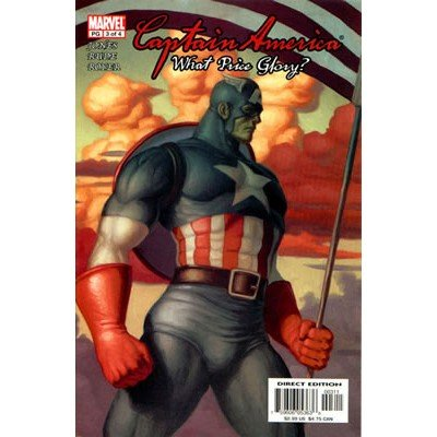 Captain America: What Price Glory #3 (Comic Book) - Marvel Comics - Bruce Jones, Steve Rude