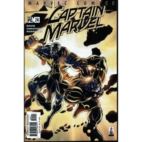 Captain Marvel Vol. 5 #24 (Comic Book) - Marvel Comics - Peter David, ChrisCross