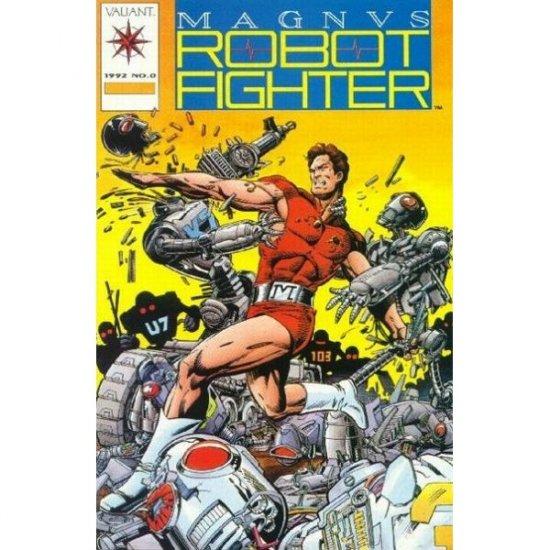 Magnus Robot Fighter, Vol. 1 #0 - No Card (Comic Book) - Valiant Comics - Jim Shooter, Paris Cullins