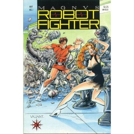 Magnus Robot Fighter, Vol. 1 #1 (Comic Book) - Valiant Comics