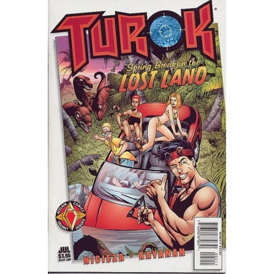 Turok: Spring Break in the Lost Land (Comic Book) - Acclaim Comics
