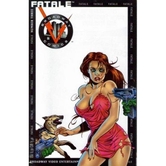 Fatale #3 (Comic Book) - Broadway Comics - Jim Shooter, J.G. Jones