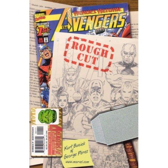 The Avengers, Vol. 3 #1 Rough Cut Edition (Comic Book) - Marvel Comics - Kurt Busiek & George Perez