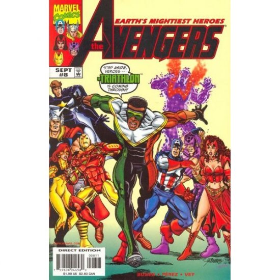 The Avengers, Vol. 3 #8 (Comic Book) - Marvel Comics - Kurt Busiek & George Perez