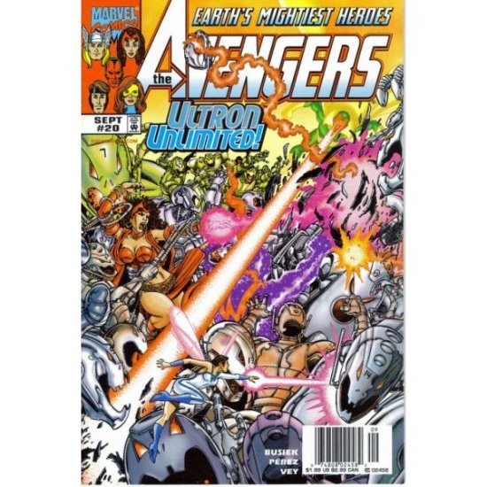 The Avengers, Vol. 3 #20 (Comic Book) - Marvel Comics - Kurt Busiek & George Perez
