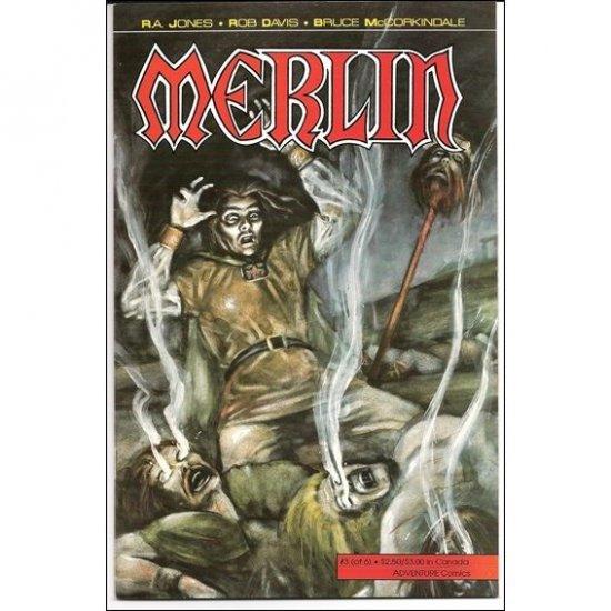 Merlin #3 (Comic Book) - Adventure Comics - R. A. Jones, Rob Davis