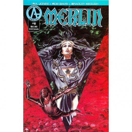 Merlin #6 (Comic Book) - Adventure Comics - R. A. Jones, Rob Davis