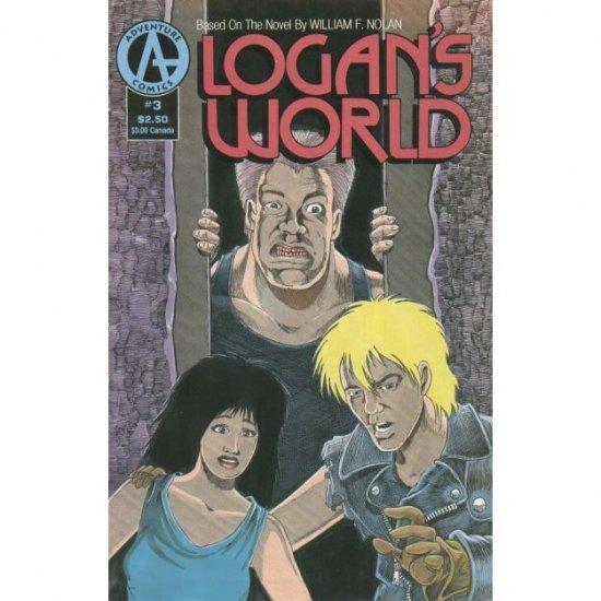 Logan's World #3 (Comic Book) - Adventure Comics - Barry Blair