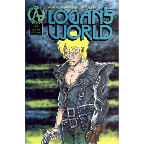Logan's World #4 (Comic Book) - Adventure Comics - Barry Blair