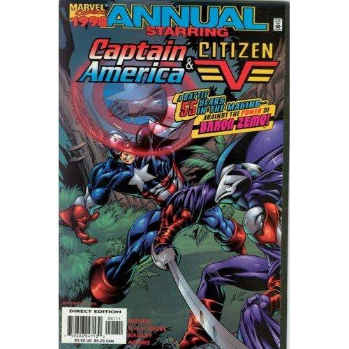 Captain America / Citizen V 98 Annual (Comic Book) - Marvel Comics - Busiek, Kesel, Bagley, Hanna