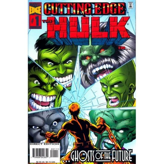 Cutting Edge #1 (Comic Book) - Hulk - Marvel Comics - William Messner-Loebs, Angel Medina