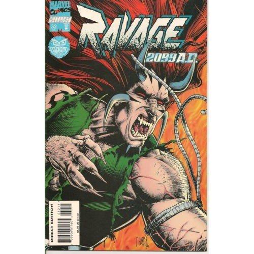 Ravage 2099 #32 (Comic Book) - Marvel Comics - Pat Mills, Tony Skinner, Marcos Tetelli