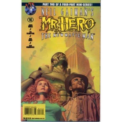 Neil Gaiman's Mr. Hero: The Newmatic Man #16 (Comic Book) - Tekno Comix - Vance, Slampyak, Dave Hunt