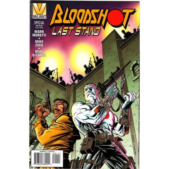 Bloodshot Last Stand (Comic Book) - Valiant Comics