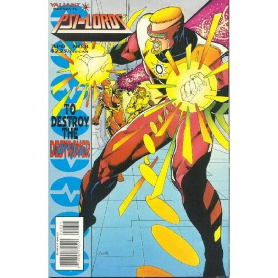 Psi-Lords #8 (Comic Book) - Valiant Comics