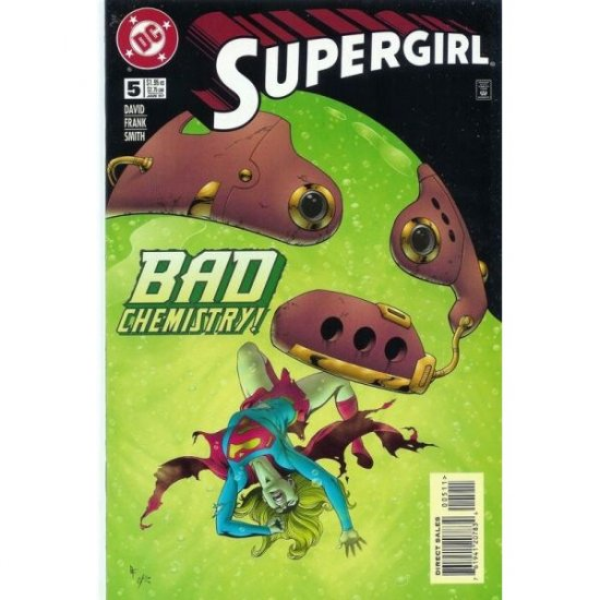 Supergirl, Vol. 4 #5 (Comic Book) - DC Comics - Peter David, Gary Frank & Cam Smith