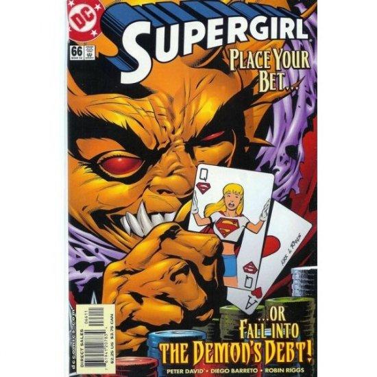 Supergirl, Vol. 4 #66 (Comic Book) - DC Comics - Peter David, Diego Barreto & Robin Riggs